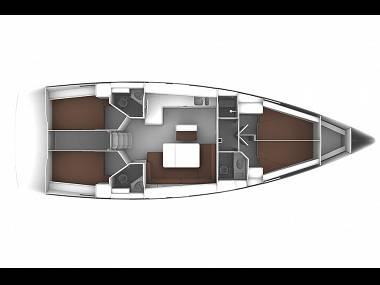 Bavaria Cruiser 46 (CBM Realtime) - Trogir - Charter ships Croatia