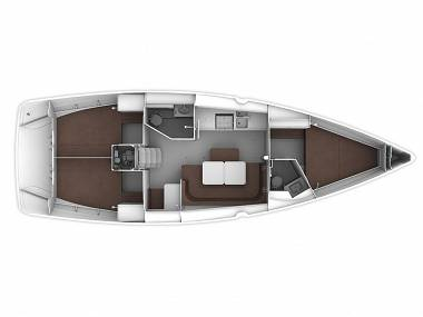 Bavaria Cruiser 41 (CBM Realtime) - Murter - Charter embarcation Croatie