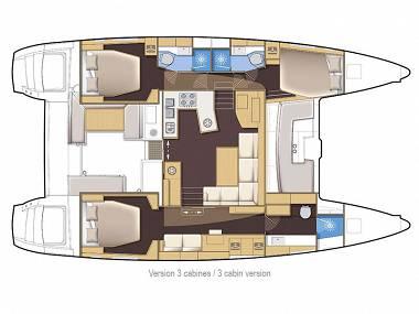 Lagoon 450 (CBM Realtime) - Sibenik - Charter ships Croatia