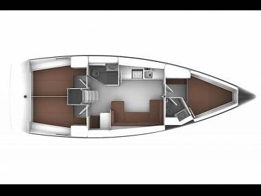 Bavaria Cruiser 41 (CBM Realtime) - Dubrovnik - Charter boten Kroatië