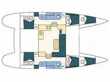 Lagoon 39 (CBM Realtime) - Sukosan - Charter Boote Kroatien