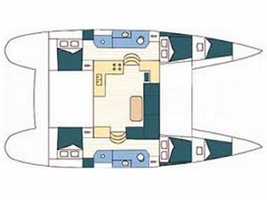 Lagoon 39 (CBM Realtime) - Sukosan - Charter navi Croazia