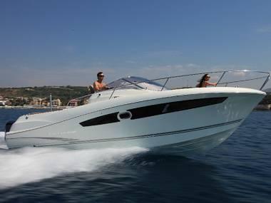 Jeanneau Cap Camarat 8.5 WA (CBM Realtime) - Trogir - Charter hajókHorvátország