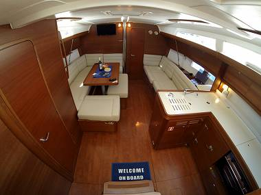 Dufour 410 Grand Large (CBM Realtime) - Sibenik - Charter Boote Kroatien