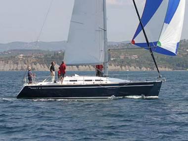 Elan 37 (CBM Realtime) - Biograd - Charter plovila Hrvatska