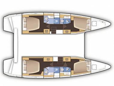 Lagoon 42 (CBM Realtime) - Seget Donji - Charter Boote Kroatien