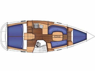 Oceanis 343 (CBM Periodic) - Split - Charter Boote Kroatien