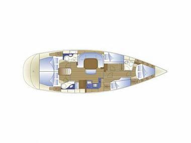 Bavaria 49 (CBM Periodic) - Sukošan - Charter plavidlá Chorvátsko