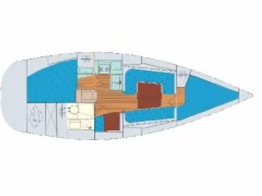 Bavaria 30 Cruiser (CBM Periodic) - Sukošan - Charter plovila Hrvaška