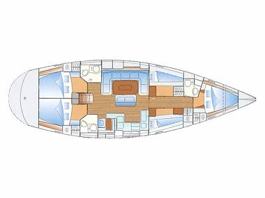 Bavaria 50 (CBM Periodic) - Sukosan - Charter Boote Kroatien