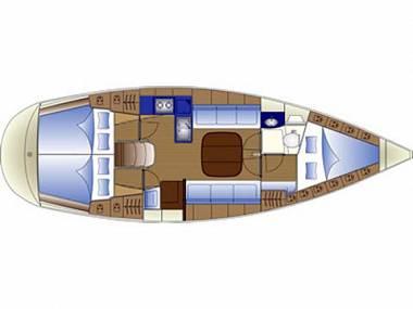 Bavaria 36 (CBM Periodic) - Sukosan - Czarter statki Chorwacja