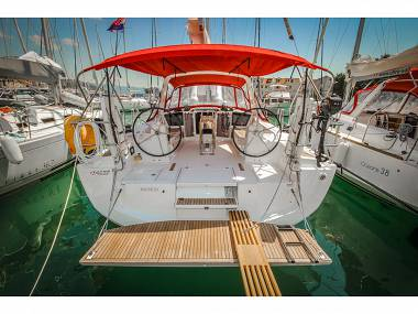 Oceanis 41.1 (CBM Realtime) - Dubrovnik - Charter ships Croatia