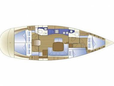 Bavaria 44 (CBM Realtime) - Split - Czarter statki Chorwacja