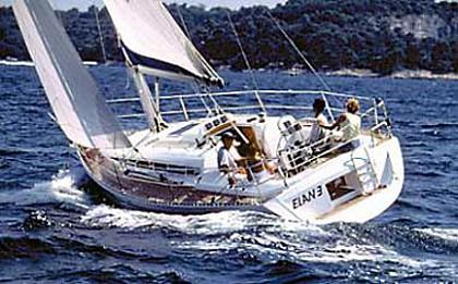 Elan 333 (code:PLA 242) - Kastel Gomilica - Charter embarcation Croatie