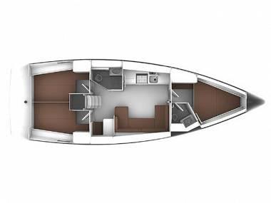 Bavaria Cruiser 41 (CBM Realtime) - Biograd - Charter plavidlá Chorvátsko