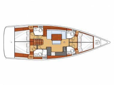 Oceanis 48 (CBM Realtime) - Seget Donji - Charter plovila Hrvatska
