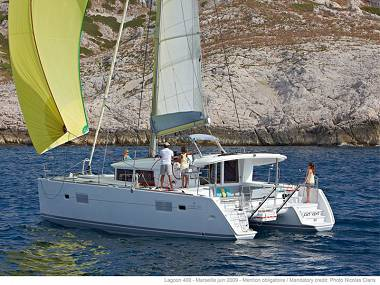 Lagoon 400 S2 (CBM Realtime) - Seget Donji - Charter ships Croatia