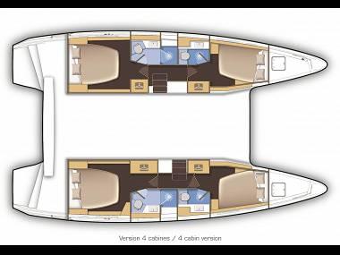 Lagoon 42 (CBM Realtime) - Sibenik - Charter boten Kroatië
