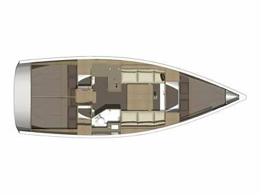 Dufour 350 GL (CBM Realtime) - Kastel Gomilica - Charter hajókHorvátország