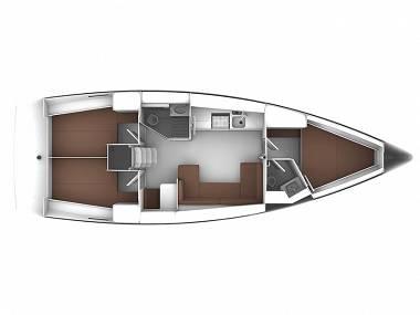 Bavaria 41 Cruiser (CBM Realtime) - Seget Donji - Charter plovila Hrvatska