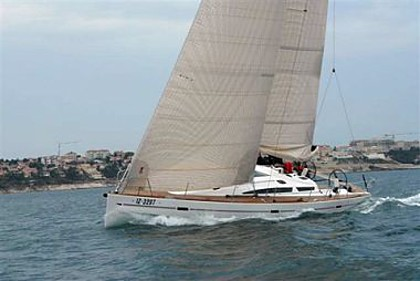 Elan 450 (code:PLA 247) - Sukosan - Charter ships Croatia