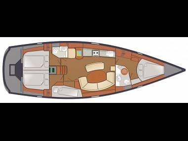 Delphia 47 (CBM Realtime) - Šibenik - Charter plavidlá Chorvátsko