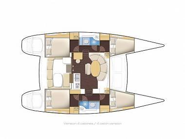 Lagoon 380 (CBM Realtime) - Sukosan - Charter ships Croatia