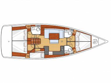 Oceanis 48 (CBM Realtime) - Sukošan - Charter plovila Hrvaška