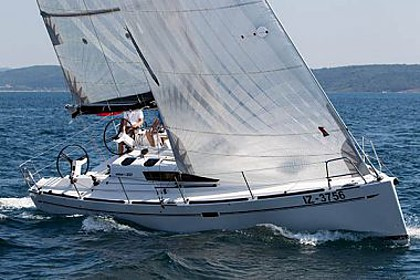 Elan 350 (code:PLA 252) - Sukosan - Charter Boote Kroatien