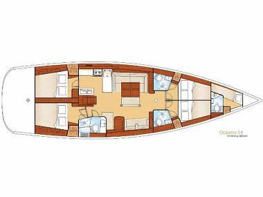 Bavaria 44 (CBM Periodic) - Sukosan - Charter hajókHorvátország