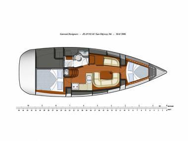 Sun Odyssey 36i (CBM Periodic) - Sukosan - Charter boten Kroatië