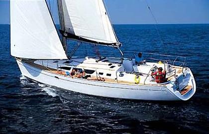 Jeanneau SO 43 (code:PLA 259) - Kastel Gomilica - Czarter statki Chorwacja