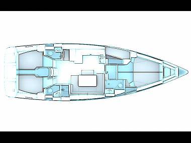 Bavaria Cruiser 51 (CBM Realtime) - Zadar - Charter Boote Kroatien