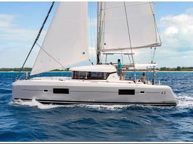 Lagoon 42 (CBM Realtime) - Kastel Gomilica - Charter Boote Kroatien