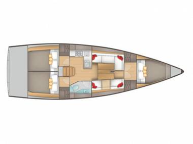 Salona 38 (CBM Realtime) - Sibenik - Charter Boote Kroatien