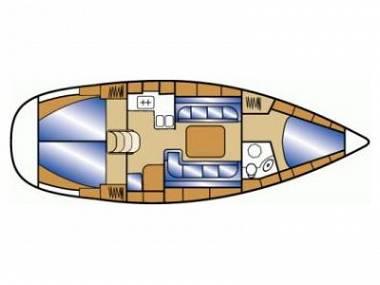 Bavaria Cruiser 37 (CBM Realtime) - Zadar - Charter plavidlá Chorvátsko