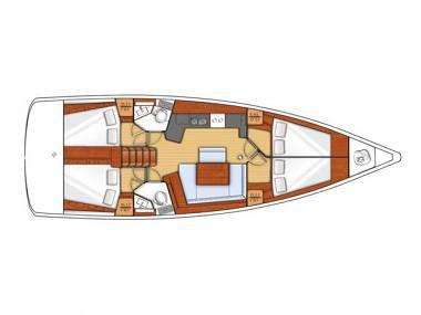 Oceanis 45 (CBM Realtime) - Seget Donji - Charter navi Croazia