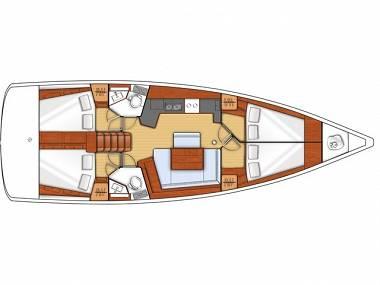 Oceanis 45 (CBM Realtime) - Seget Donji - Charter hajókHorvátország
