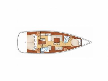 Grand Soleil 50 (CBM Realtime) - Punat - Charter boten Kroatië