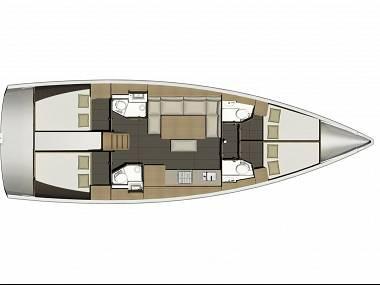 Dufour 460 Grand Large (CBM Realtime) - Pula - Charter plavidlá Chorvátsko