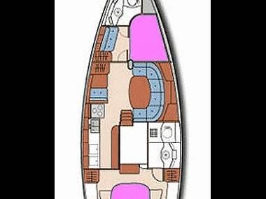 Oceanis 40 (CBM Realtime) - Dubrovnik - Charter ships Croatia
