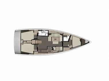 Dufour 412 Grand large (CBM Realtime) - Sukošan - Charter plovila Hrvatska