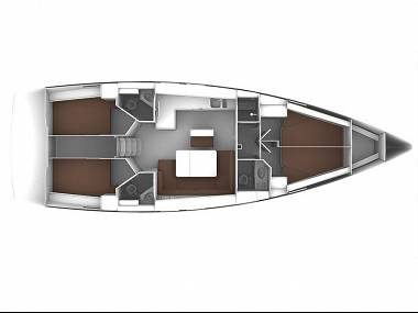 Bavaria Cruiser 46 (CBM Realtime) - Seget Donji - Charter embarcation Croatie