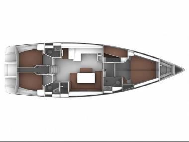 Bavaria Cruiser 51 (CBM Realtime) - Seget Donji - Charter Boote Kroatien