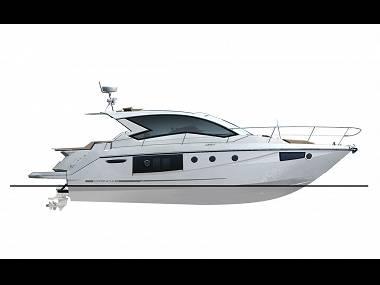 Cranchi M44 HT (CBM Realtime) - Sibenik - Charter Boote Kroatien