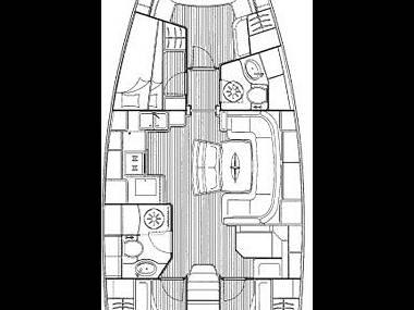 Bavaria 46 Cruiser (CBM Realtime) - Задар - Чартер ХорватияХорватия