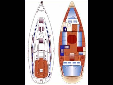 Bavaria 36 (CBM Realtime) - Zadar - Charter Boote Kroatien