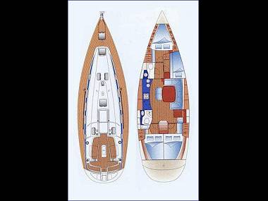 Bavaria 44 (CBM Realtime) - Split - Charter ships Croatia