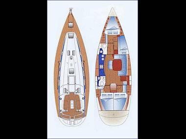 Bavaria 44 (CBM Realtime) - Biograd - Charter plovila Hrvaška