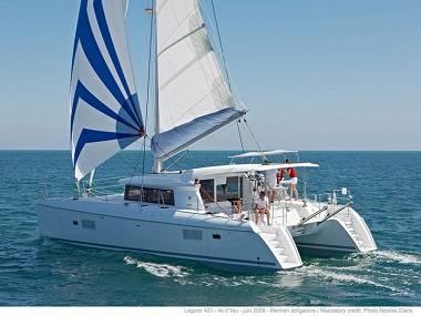Lagoon 421 (CBM Realtime) - Pula - Charter Boote Kroatien